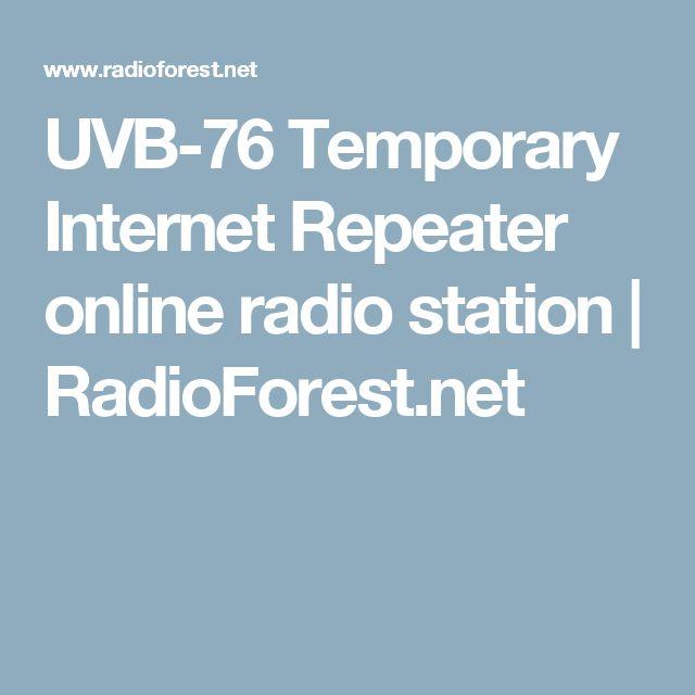 UVB-76 Temporary Internet Repeater online radio station | RadioForest.net