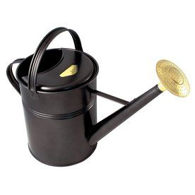Bosmere 2.3-Gallon Black Metal Traditional Watering Can V143b