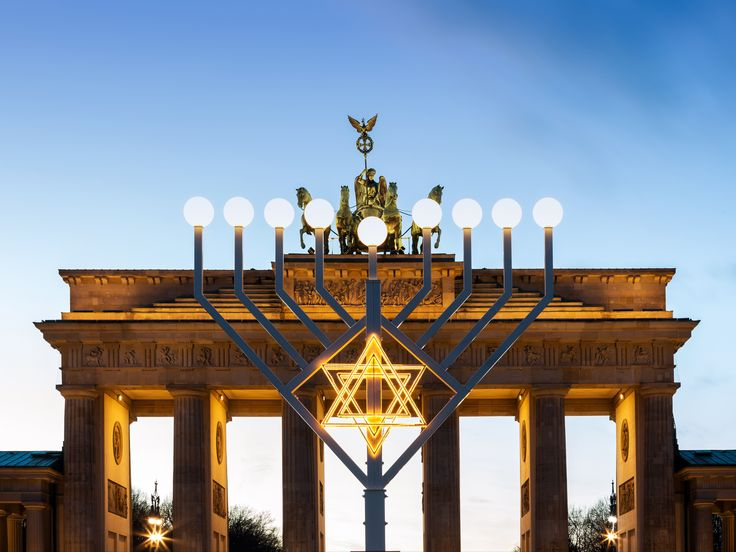 From London to Hong Kong to Tel Aviv, these are some of the most beautiful public menorahs in the world—beautiful symbols of the Jewish festival of lights. This article has been updated.