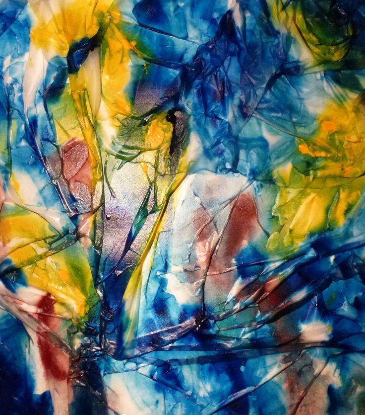 Spring, Sirkkaliisa Virtanen, watercolor.