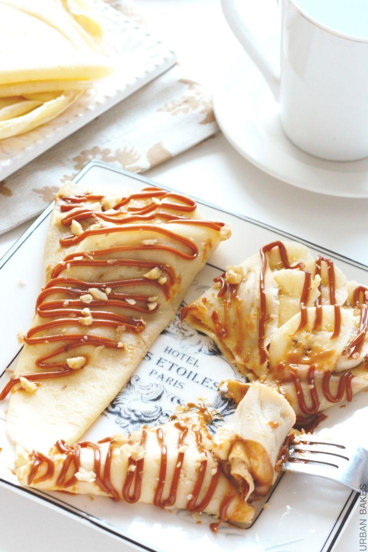 Banana Nut Crepes with Dulce de Leche sauce | URBAN BAKES A no-bake ...