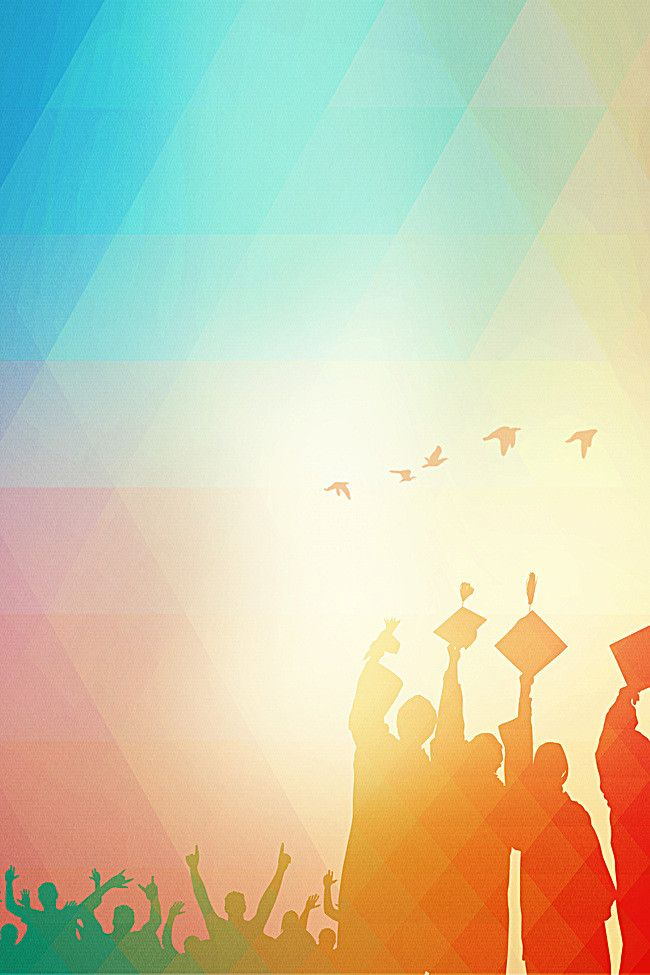 Youth Background Graduation Season Poster Background in ...