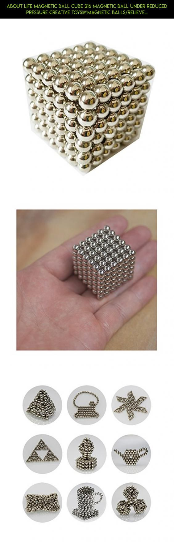 About Life Magnetic Ball Cube 216 Magnetic Ball Under Reduced Pressure Creative Toys,Magnetic Balls/Relieve stress #tech #refrigerator #products #plans #shopping #magnetic #kit #balls #racing #gadgets #fpv #camera #drone #technology #parts
