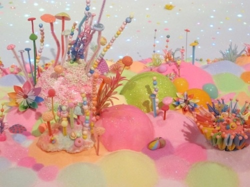 Fairy Land display for children at the GoMA (Gallery of Modern Art) in Brisbane.