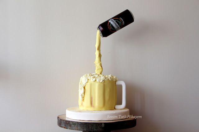 antigravity cake funny cake beer cake adult cake