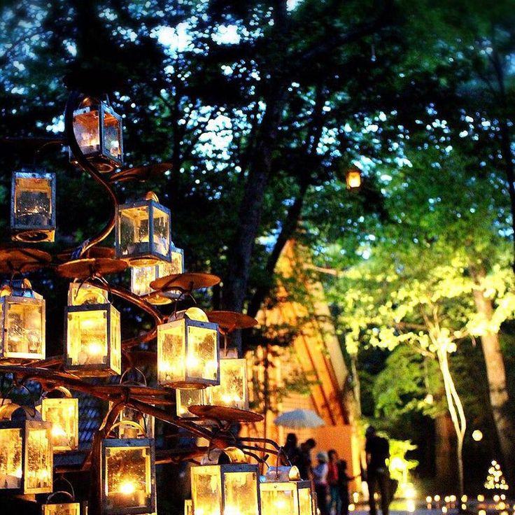 まるでラプンツェルの世界♡軽井沢高原教会の素敵すぎるキャンドルナイトに急げ*にて紹介している画像