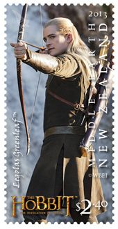 New Zealand Hobbit Stamps   Hobbit: Desolation of Smaug' characters featured on stamps, coins ...