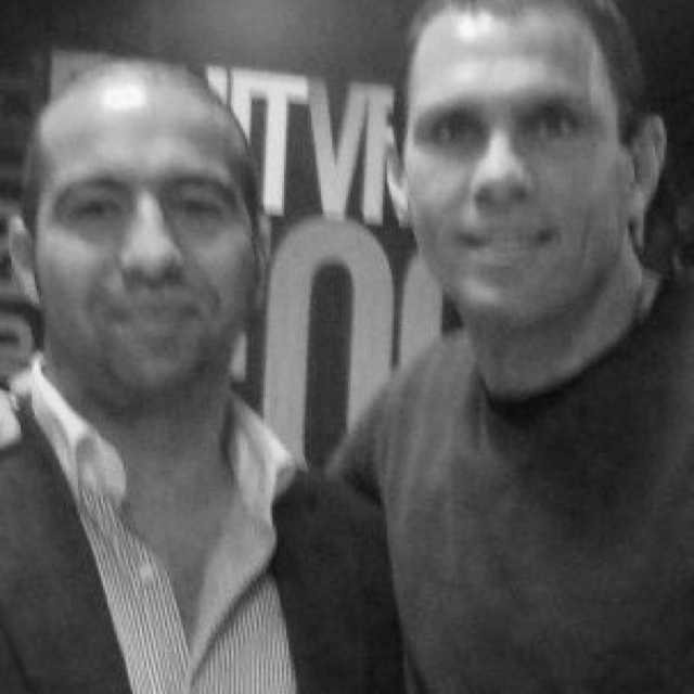 First time I met Gus Poyet was at one of David Beckham's corporate cup events in London.  Fastforward a few years later and it was an honour to be invited into the Brighton & Hove Albion FC changing rooms and players lounge to celebrate on the night they beat Dagenham & Redbridge FC at the Withdean to win promotion to the Championship.    (for the record, I was gutted for the Daggers).