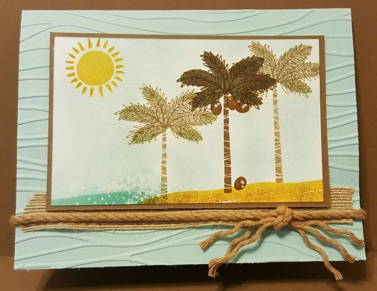 Totally Tropical Island by zipperc98 - Cards and Paper Crafts at Splitcoaststampers