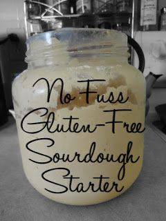 how to make gluten free sourdough bread starter