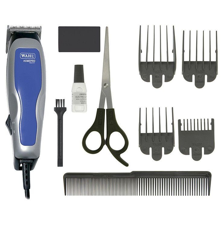 Wahl 9155-058 HomeCut Basic 10 Piece Hair Clipper Kit 220-240 Volts 50/60Hz Export Only