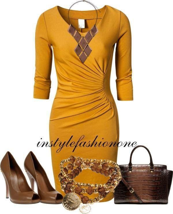 Amarillo y Marrón