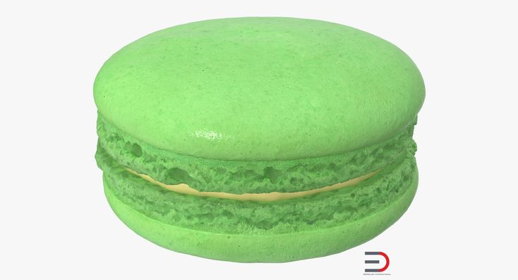 Classic French Macaron 3D model