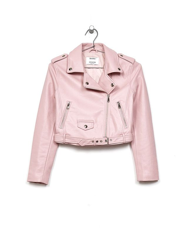 Bikers - Coats & Jackets - CLOTHES - WOMAN - Bershka Spain