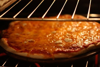 Cooking for Large Groups:   homemade pizza, my favourite food.