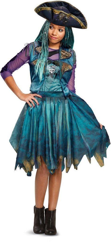 Disney Uma Classic Descendants DRESS UP SET Costume Medium 7-8 Christmas Gift #Disguise #Dress
