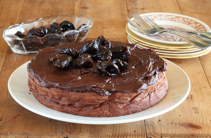 Chocolate and Prune Cake - Maggie Beer