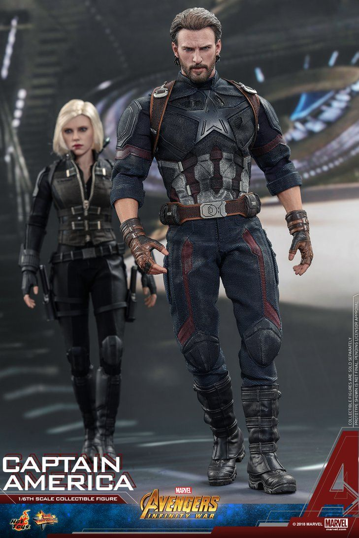 Hot Toys Avengers Infinity War Captain America Marvel