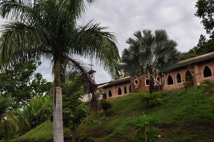 Colombia - Templo  de los monjes ermitaños, Piedecuesta, Santander.