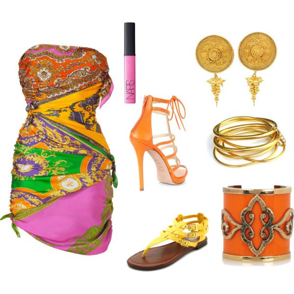 La India, created by janetjessica7 on Polyvore: The Indian