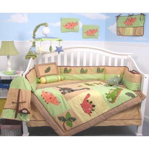 25 Best Images About Dinosaur Crib Bedding On Pinterest