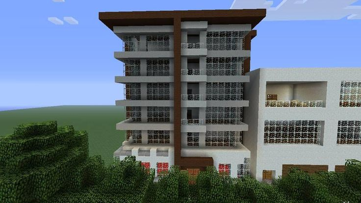 Minecraft Modern Building by batelg7 on DeviantArt