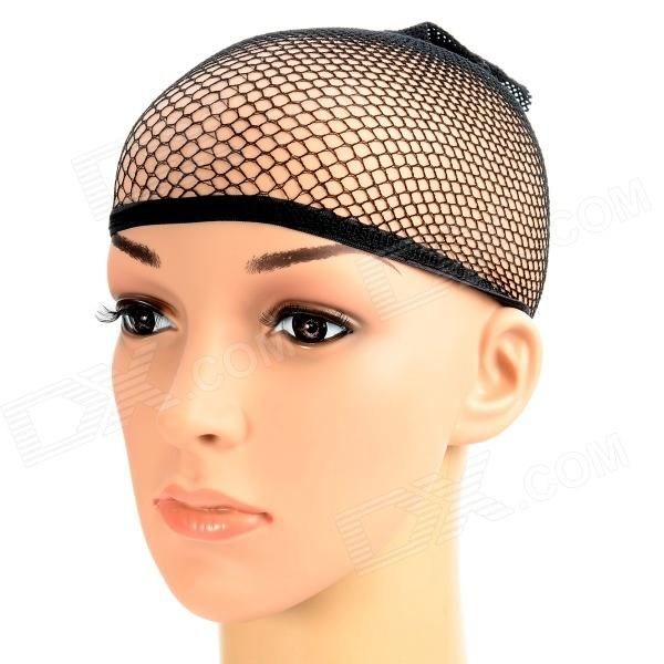The Peir LH1217B The Peir LH1217B Elastic Wig Cap Hair Net - Black