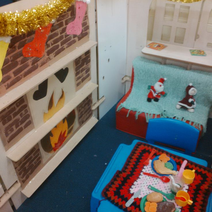 Christmas Home Corner Role Play Areas Corner House