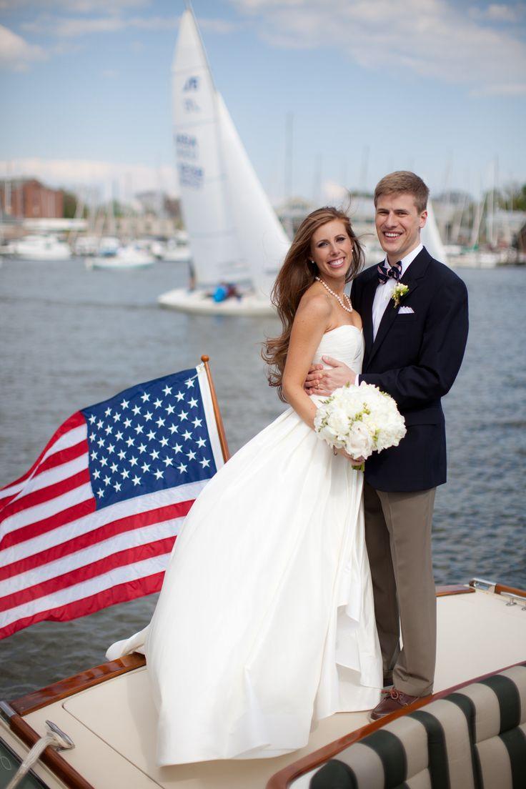Nautical Annapolis Spring Wedding