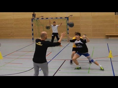 Teamhandball Pivot Training (3)