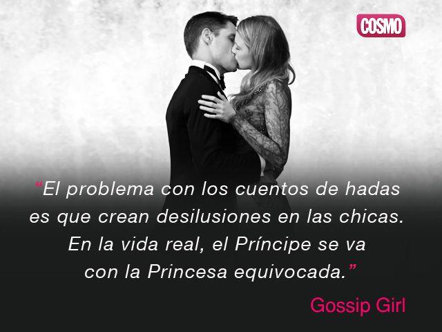 Frase de Gossip Girl. XoXo.