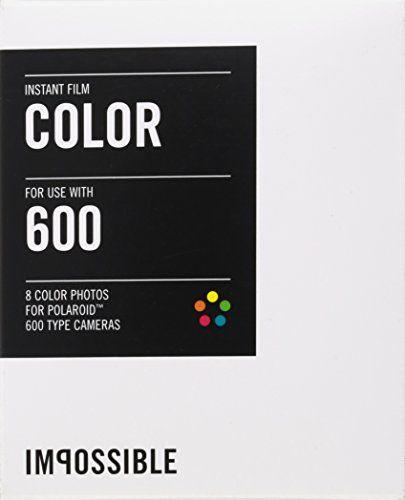 Impossible - 2785 - pellicule couleur pour Appareil Polaroid type P600 - cadre blanc - 8 feuilles par boîte Impossible http://www.amazon.fr/dp/B00FKVWI90/ref=cm_sw_r_pi_dp_kbrOvb08Q6T56