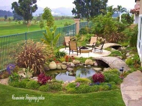 25 besten Gartenteich Ideen Bilder auf Pinterest Gartenteiche - naturlicher bachlauf garten