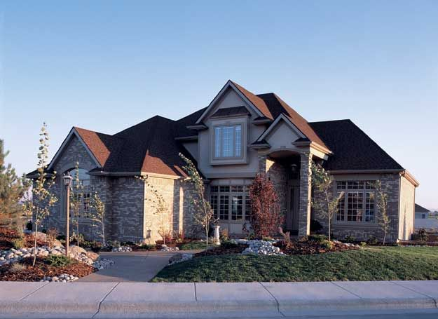 4 Bedroom European Style Home With Many Unique Design Features And  Amenities. European House Plan