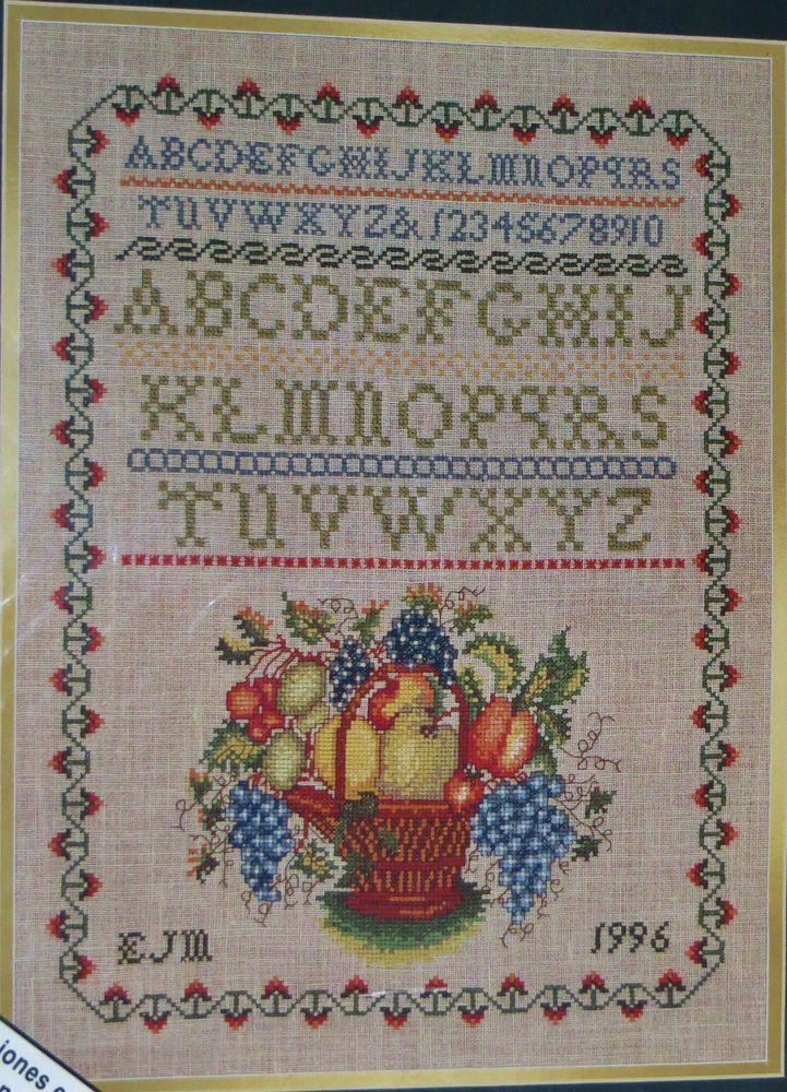 Elsa Williams Williamsburg Theorem Sampler Cross Stitch