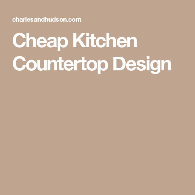 Cheap Kitchen Countertop Design