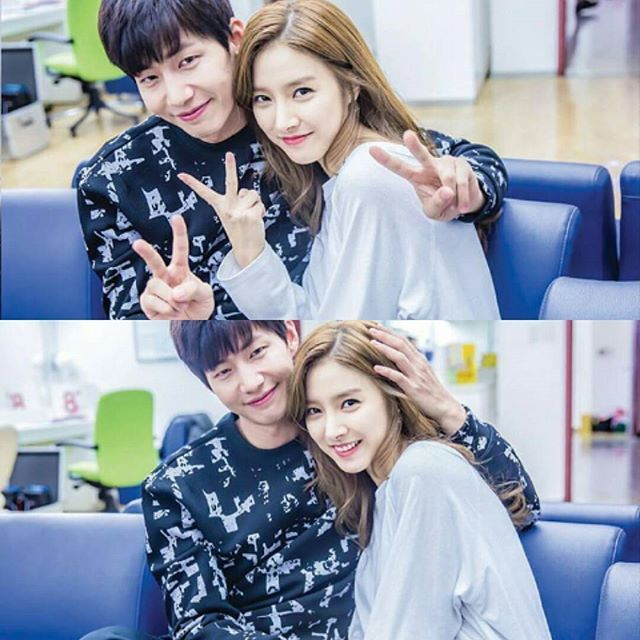 They looks so beautiful and lovely together  #repost #solim #songjaelim #kimsoeun #infinity #couplesgoal