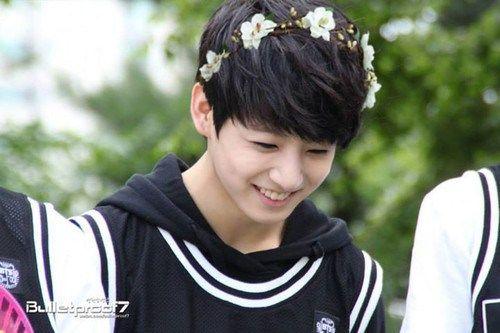 Hey I'm Bts trash, wbu? — jin-glebell: a quick jungkook smile ...