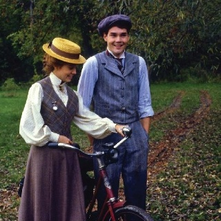 "Anne and Gilbert in ""Anne of Green Gables"""