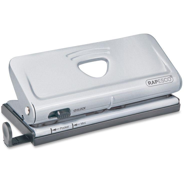 Rapesco Adjustable 6-Hole Organiser/ Diary Punch (Powder Blue) RPC1323