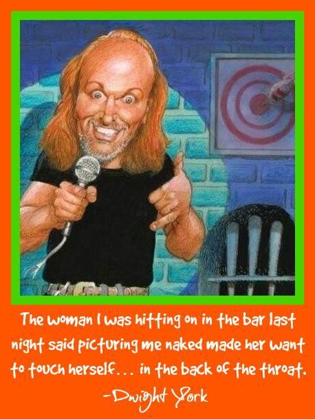 June 24 -27 FEATURE Dwight York http://www.loonybincomedy.com/LittleRock 501-250-3741