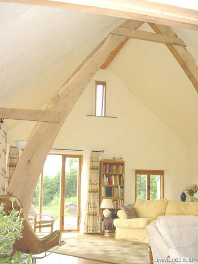 17 best images about cruck on pinterest barn renovation for Cruck frame house plans