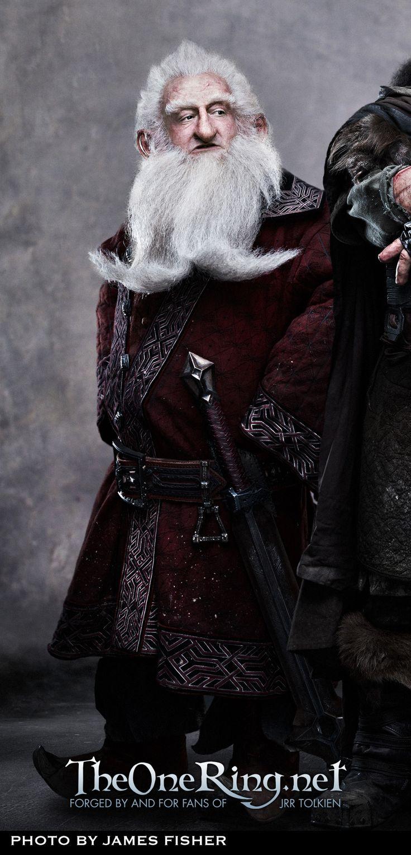 Ken Stott as Balin in The Hobbit Movie