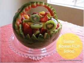Cook, Craft, Go to School: Easter Basket Fruit Salad