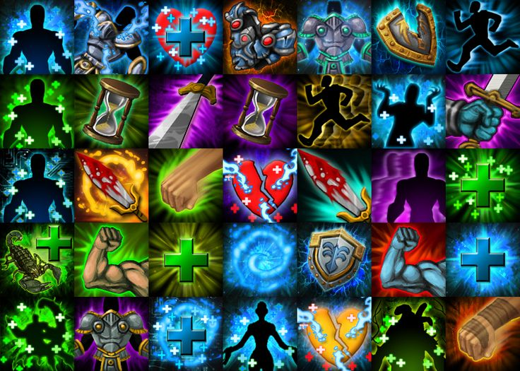 Skill Icons by CaseyD2K.deviantart.com on @deviantART