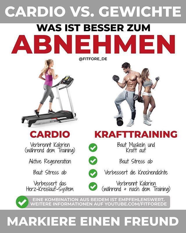 Abnehmen für Männer Herz-Kreislauf-Übungen
