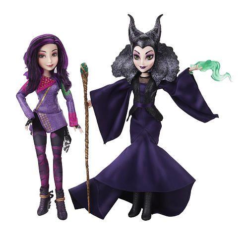 disney+desandance+jay+doll | Disney Descendants - Mal Isle of the Lost & Maleficent Doll 2-Pack ...