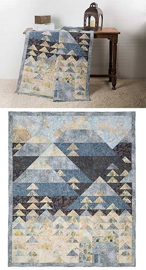 CABIN IN THE WOODS QUILT KIT