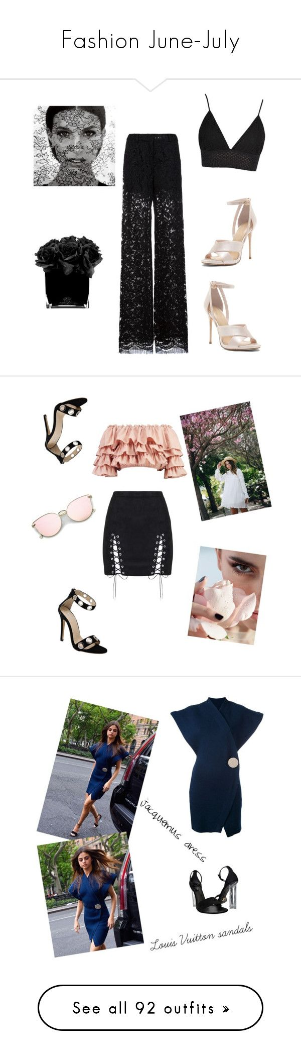 """""""Fashion June-July"""" by arina-bianca ❤ liked on Polyvore featuring ADAM, Hervé Gambs, Boohoo, Louis Vuitton, Kendall + Kylie, Emy Mack, Maria Francesca Pepe, Dolce&Gabbana, Levi's and Victoria, Victoria Beckham"""