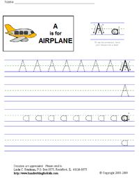 My 3 year old is left handed and we are having problems teaching him how to write his letters and numbers. I am going to print and laminate some of these sheets so we can use erasable crayons and markers.